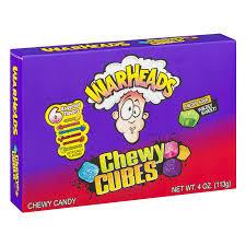 Конфеты Warheads кислые кубики