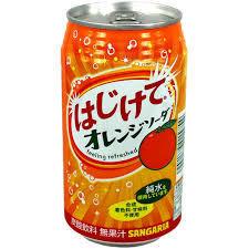 Напиток газированный Сангария со вкусом апельсина
