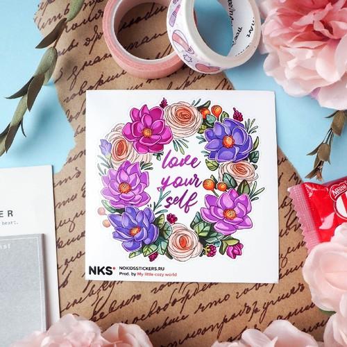 CARD FLOWER CROWN 4