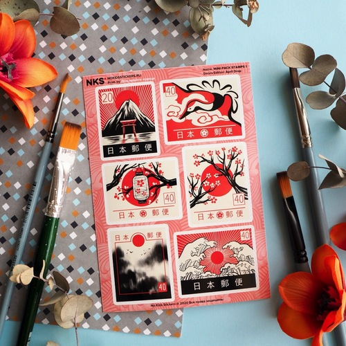 MINI PACK ASIAN STAMPS 1