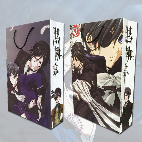 Подарочный пакет Темный Дворецкий/Kuroshitsuji