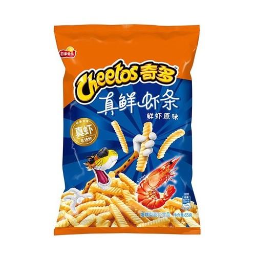 Рифленые палочки «Cheetos» со вкусом креветок