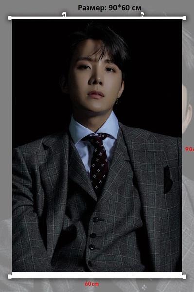 Тканевый плакат BTS J-HOPE (1)