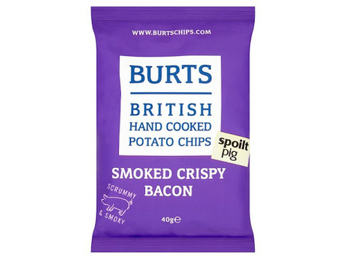 Чипсы Burts SMOKED CRISPY BACON