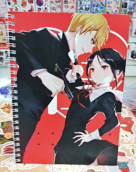 Тетрадь Госпожа Кагуя: в любви как на войне/Kaguya-sama wa Kokurasetai