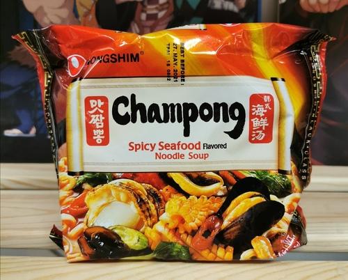 Лапша быстрого приготовления Чампонг с морепродуктами Nongshim