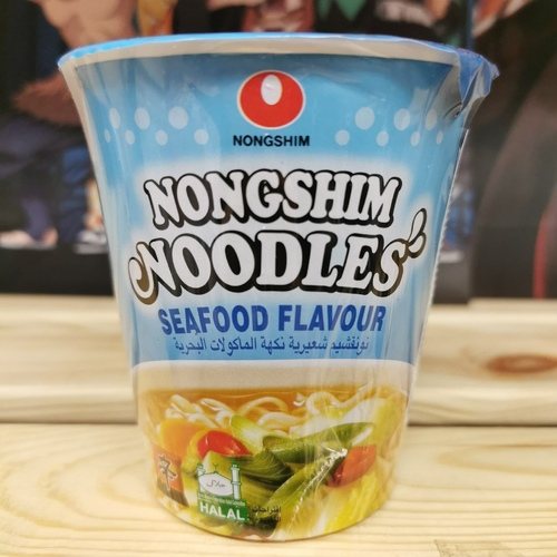Лапша быстрого приготовления Нонгшим с морепродуктами