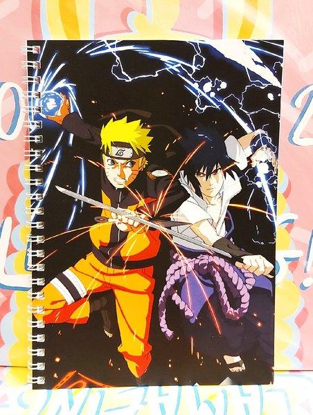 Тетрадь Наруто/Naruto (3)