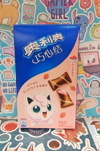 Подушечки Oreo со вкусом клубники (Серия Pokemon)