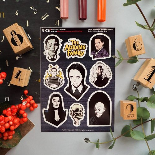 Mini-pack Addams Family