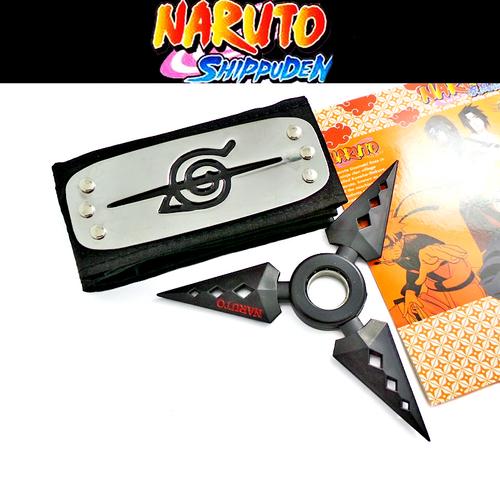 Набор Наруто \ Naruto (бандана и сюрикен) 2