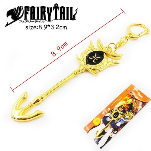 Брелок Ключ Хвост феи/Fairy Tail (Рыба)