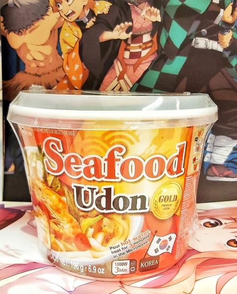 Удон со вкусом морепродуктов