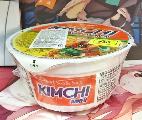 Лапша Kimchi ramen со вкусом кимчи