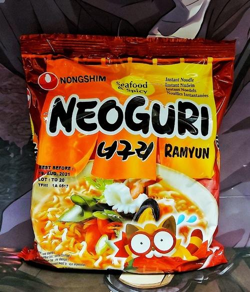 Лапша быстрого приготовления Неогури с морепродуктами острая