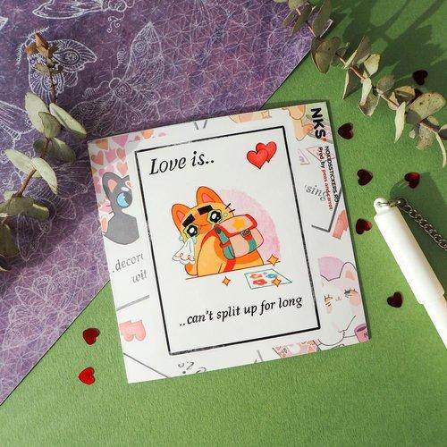 Card Love Is 1