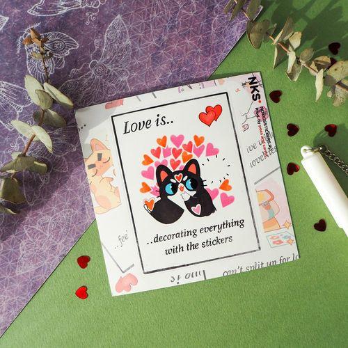 Card Love Is 2