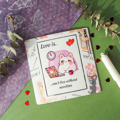 Card Love Is 3