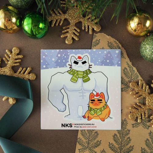 Card snowman 2