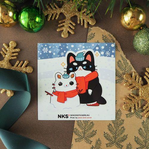 Card snowman 3