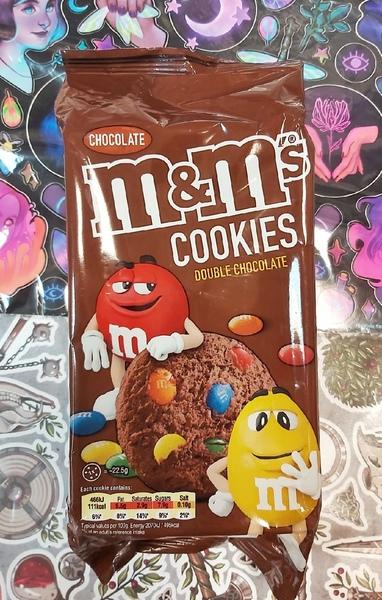 Печенье M&Ms двойной шоколад