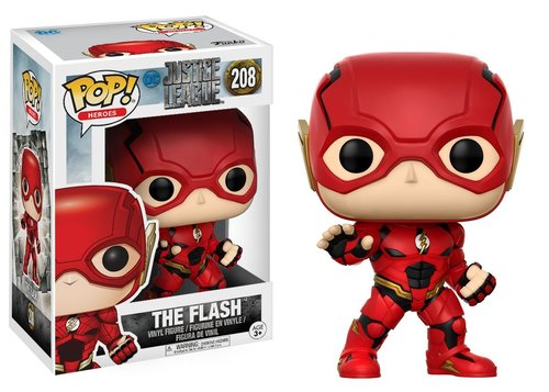 Фигурка Funko POP! Vinyl: DC: Justice League: Flash (фото)