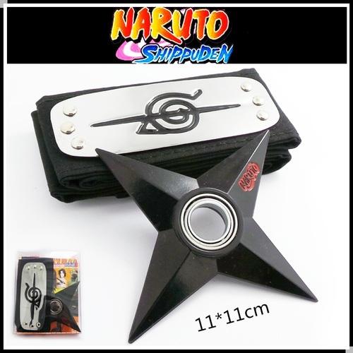 Набор Наруто/Naruto (Бандана и сюрикен) (1)