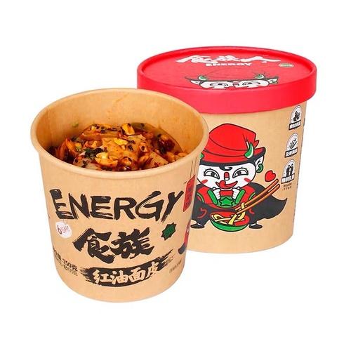 Лапша Племя еды с красным соусом чили, (острая)