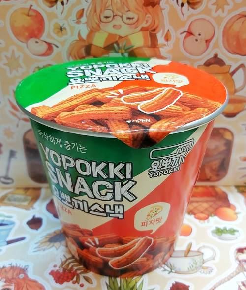Снэк YOPOKKI вкус пиццы