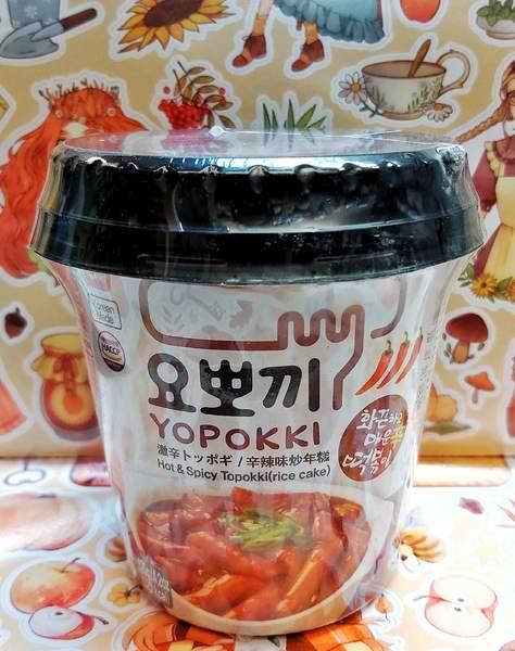 Рисовые клецки (топокки) с острым пряным соусом, 120 г