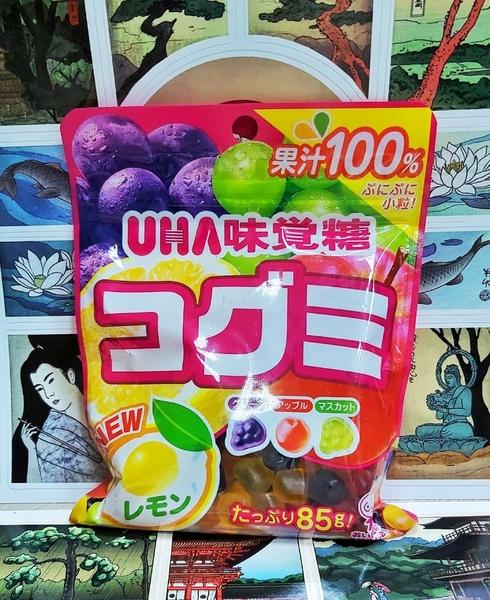 Мармелад UHA ассорти из 100% сока