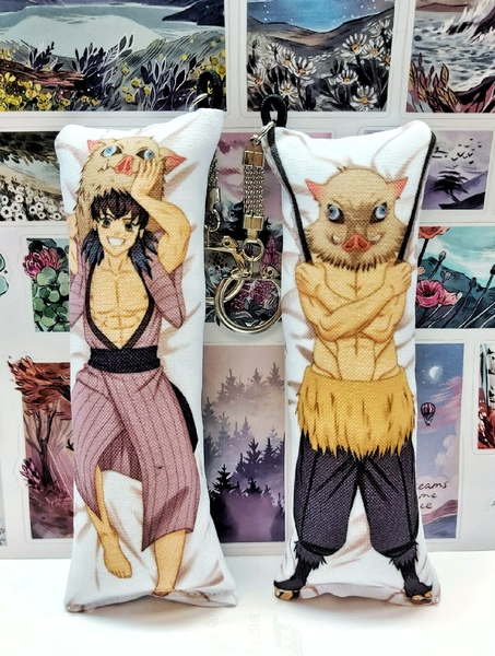 Декоративная мини-дакимакура Клинок, рассекающий демонов/Kimetsu no Yaiba (3)