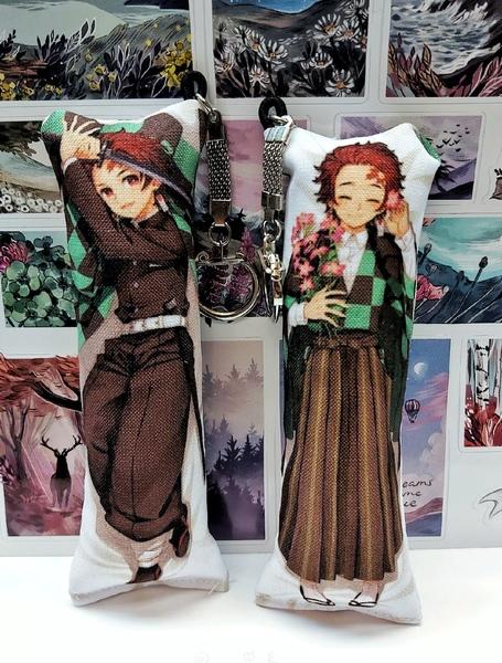 Декоративная мини-дакимакура Клинок, рассекающий демонов/Kimetsu no Yaiba (4)