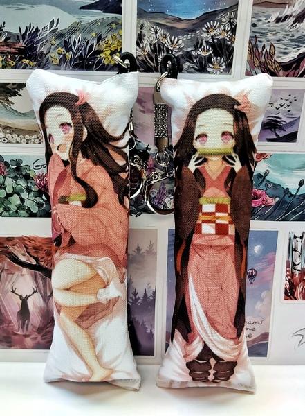 Декоративная мини-дакимакура Клинок, рассекающий демонов/Kimetsu no Yaiba (6)