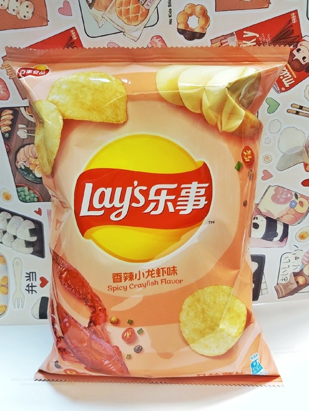 Чипсы Lay's со вкусом острого рака
