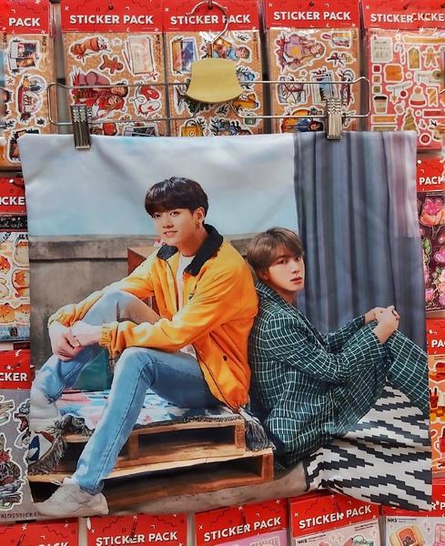 Декоративная подушка BTS (1)