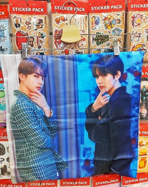 Декоративная подушка BTS (2)