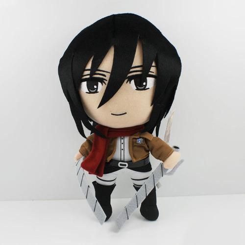 Мягкая игрушка Атака Титанов/Shingeki no Kyojin (Микаса)