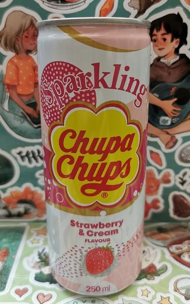 Напиток Chupa chups Клубника (2)