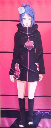 Тканевый плакат Наруто/Naruto (Конан)