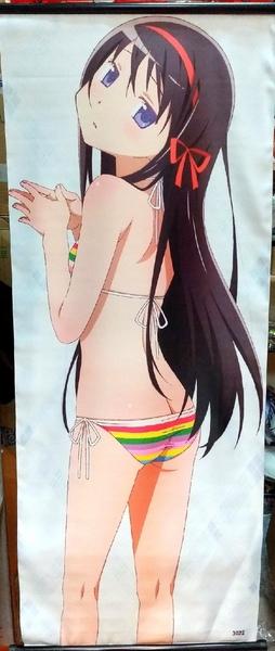 Тканевый плакат Девочка-волшебница Мадока/Puella Magi Madoka Magica