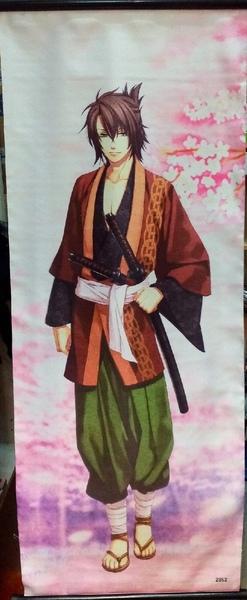 Тканевый плакат Сказание о демонах сакуры/Hakuouki (5)