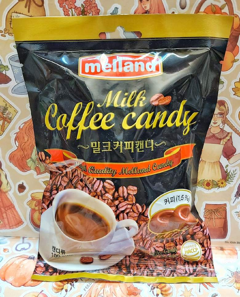 """Карамель """"Melland"""", кофе с молоком"""
