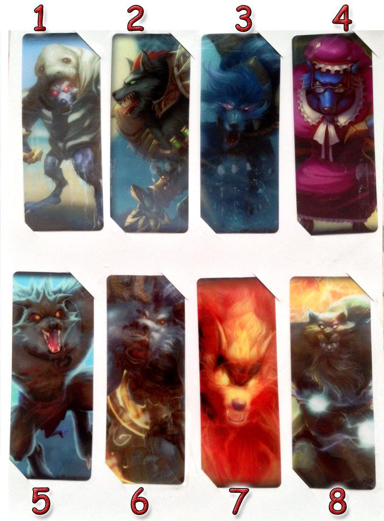 Закладка League of Legends