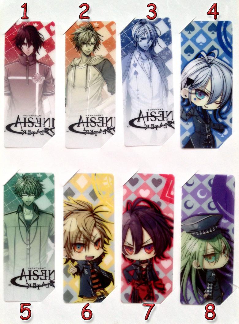 Закладка Амнезия/Amnesia