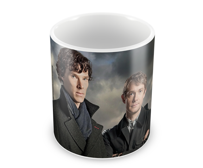 Кружка Шерлок/Sherlock (1)