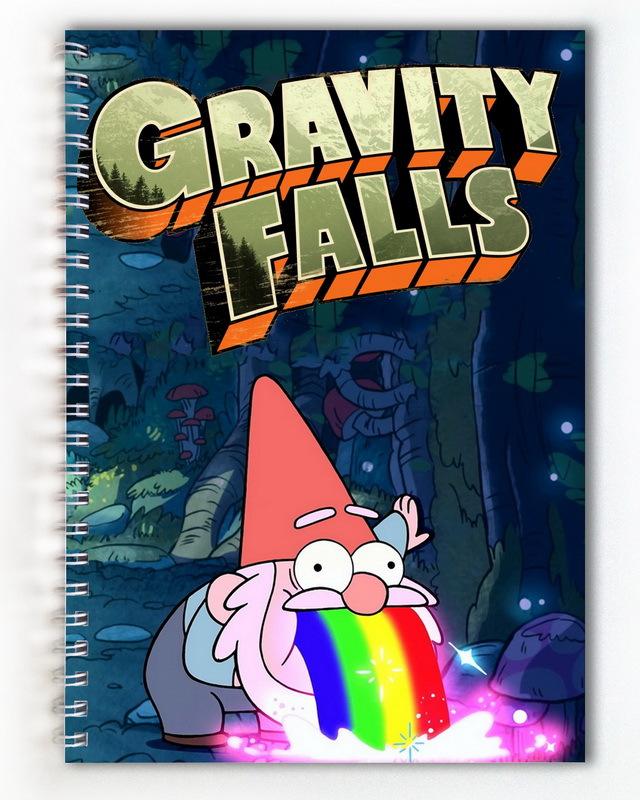 Тетрадь Гравити Фолз/Gravity Falls (2)