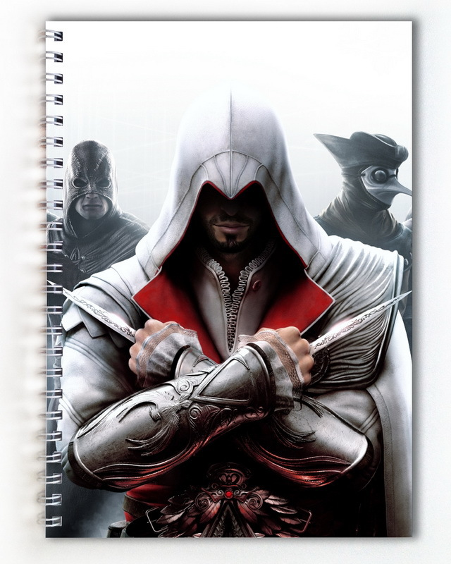 Тетрадь Assassins Creed