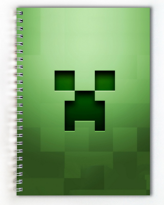 Тетрадь Minecraft