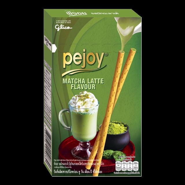 """Бисквитные палочки Pejoy """"Зеленый чай"""""""